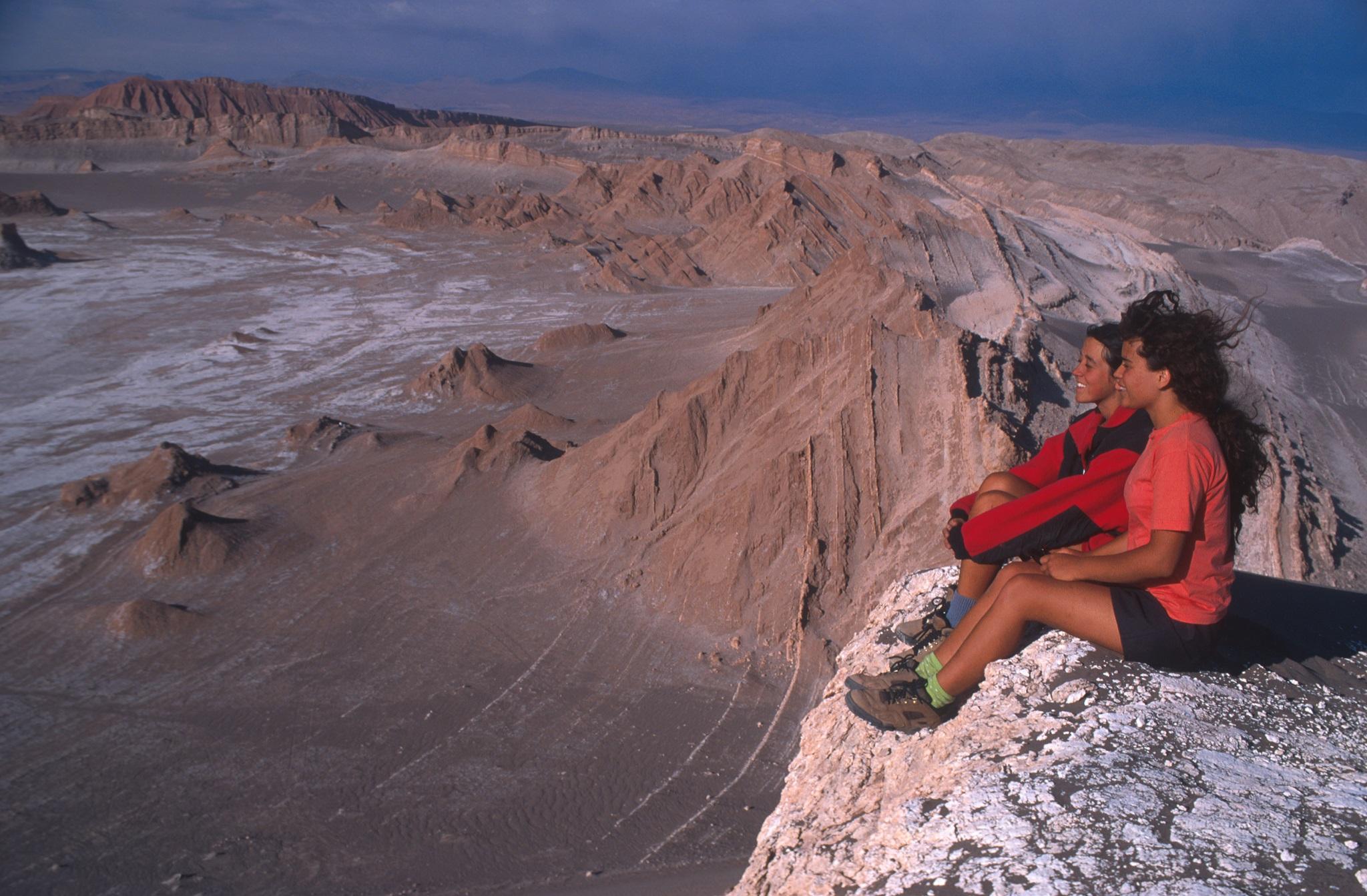 Valle de la Luna, CCordillera de la Sala, San Pedro de Atacama. . Fotografía: Servicio Nacional de Turismo - Sernatur, Fundación Imagen de Chile (FICH). -Con Copyright , Derechos Parciales CC BY- NC-ND- Creative Commons-